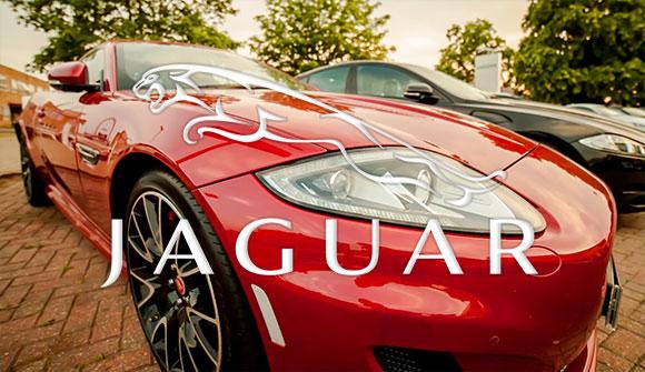 Jaguar XF Black & Red